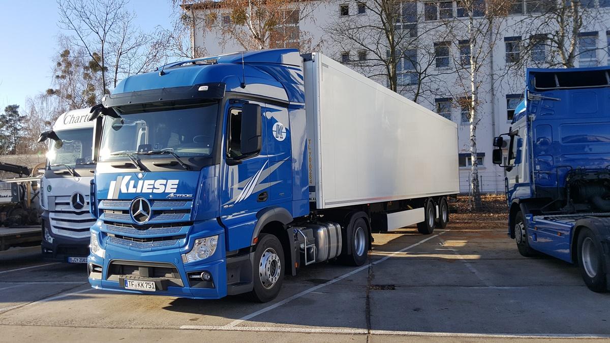 Spedition Kliese GmbH - speditionkliese.de